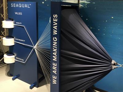 Première Vision Exhibition February 2017 Seaqual